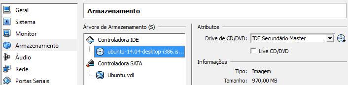 Driver Ubuntu carregado