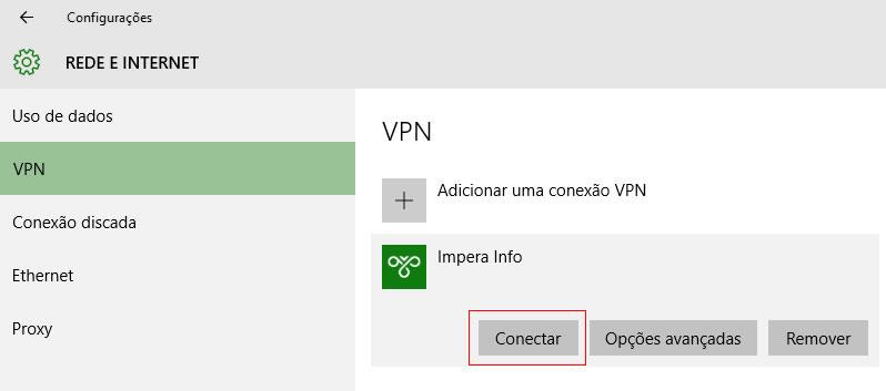Conectar a uma VPN