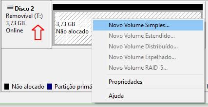 Novo volume simples