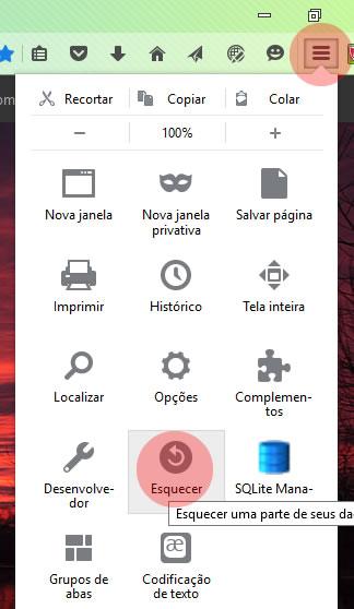 Recursos do Firefox